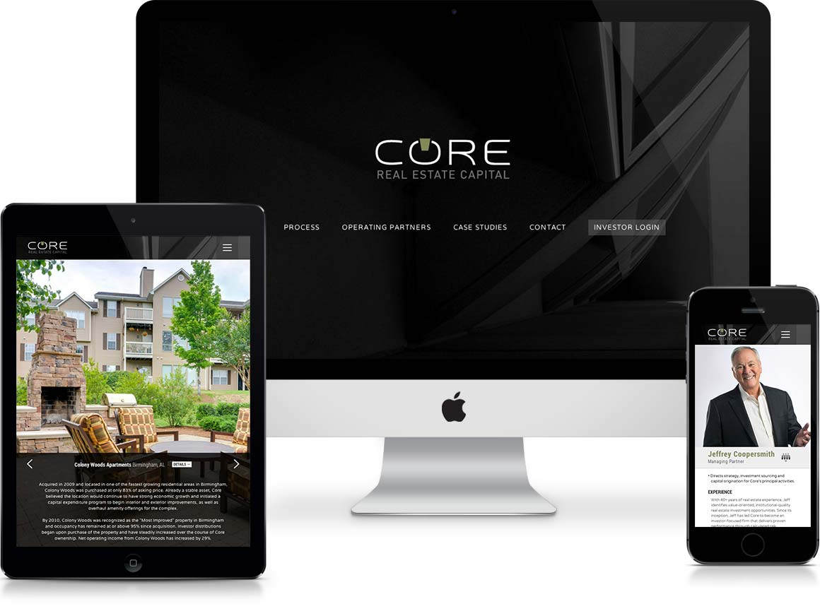 CORE Real Estate Capital Website Intro